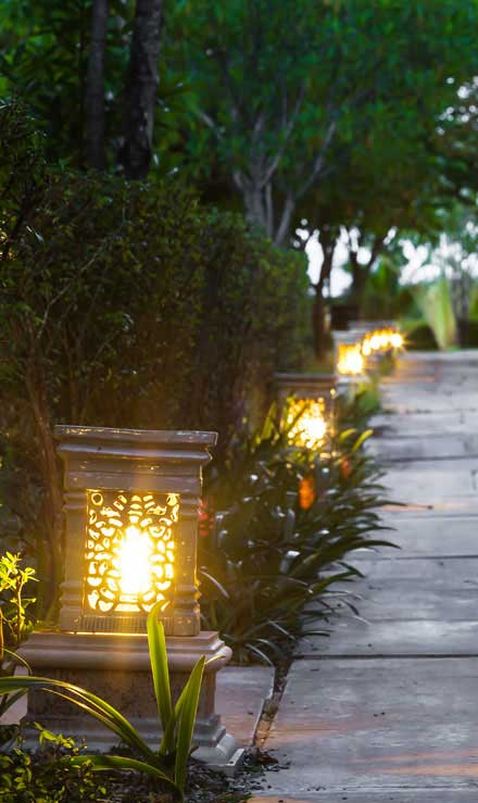 Knights Landscaping Construction And Design Residential Landscape Lighting