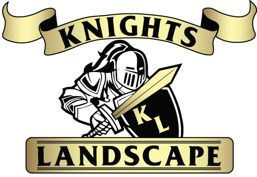 Knights Landscaping Construction And Design Logo