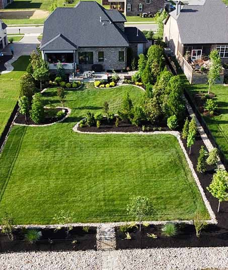 Knights Landscaping Construction And Design Residential Lawn Care