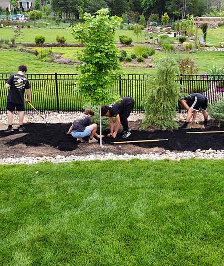 Knights Landscaping Construction And Design Weed Control services