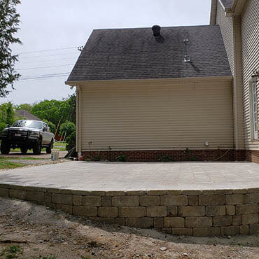 Knights Landscaping Construction And Design Retaining Walls
